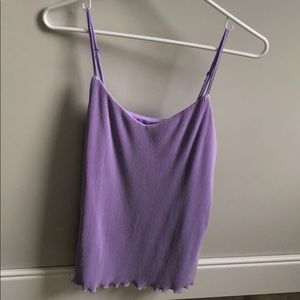 NWOT- Lilac flowy business or casual tank top